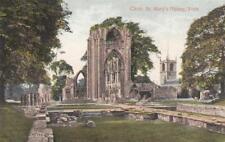 U87.Valentine Postcard.Choir,St.Mary's Abbey. York.