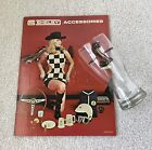 ORIGINAL NOS 1969 Shelby Cobra pilsner beer glass Shelby Autosport catalog 23ct!
