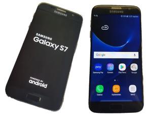Samsung Galaxy S7 G930 32 Go - colour: noir - état: comme neuf du revendeur !!!