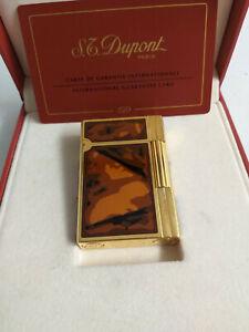S.T. Dupont Feuerzeug Gatsby Laque de Chine vergoldet