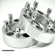 4 Pc HUMMER H3 WHEEL ADAPTER SPACERS FREE LUGS 1.50 Inch # 6550C1215