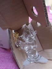 LENOX DISNEY SNOW WHITE DAISIES from DOPEY CRYSTAL FIGURINE