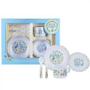 Beatrix Potter Classic Peter Rabbit 5-Piece Mealtime Dinner Set