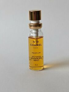 CHANEL 19 ALTES PARFÜM FLAKON 15 ML REFILL SPRAY VINTAGE PERFUME BOTTLE OLD