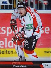 264 Bryan Adams Kölner Haie DEL 2008-09