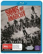Sons Of Anarchy: S5 Season 5 Blu-Ray Region B