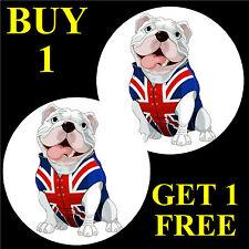 British Bulldog-Fun coche / la ventana de Sticker + 1 Gratis-Nueva-Regalo