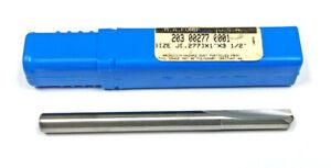 J Straight Flute Carbide Drill MA Ford 203-00277