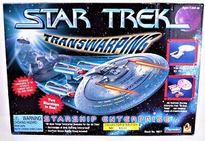 Star Trek Transwarping Enterprise 1701-D  Collector's Edition Playmates 1996 NOB
