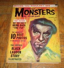 FAMOUS MONSTERS  OF FILMLAND # 5  NOV.  1959  WARREN
