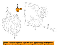 FORD OEM Drive Axles-Front-Mount Bracket Bolt Right W500121S439