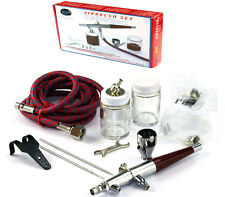 Paasche VL SET Double Dual-Action Siphon Feed Airbrush Kit Hobby Cake VL-SET