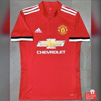 Authentic Adidas Manchester United 2017/18 Home Jersey. BNWOT, Size S.