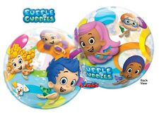 """NEW Bubble Guppies 22"""" Qualatex BUBBLE Balloons Birthday Party Supplies~"""