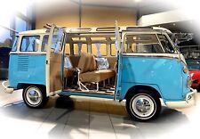 *KULT SCHÖNHEIT* VW T1 Samba Bus Oldtimer Bulli Camper im Oldtimer Museum