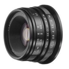 25mm F/1.8 Prime Lens Manual Focus For Canon EOS M EF-M Mount M100 M10 M6 M5 Cam