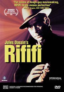 RIFIFI - JULES DASSIN 1955 FULLY RESTORED FRENCH CLASSIC RARE DVD (NEW & SEALED)