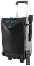 "Rockville 8"" Portable YouTube Bluetooth Karaoke Machine/System w/ Wireless Mic"