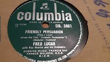 FRED LUCAS FRIENDLY PERSUASION & A THING OF BEAUTY COLUMBIA DB3861