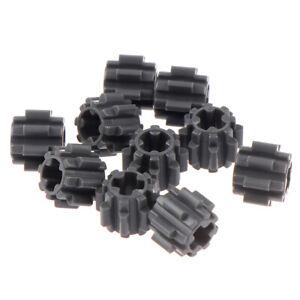 10Pc Self-Locking Bricks free creation of toy Technic GEAR WHEEL T8 JRY^lk