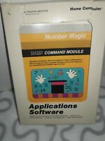 TEXAS INSTRUMENTS TI-99/4A  Number Magic Command Module Cartridge