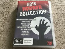 80's Horror Collection   Rare Collection Of Horror Movies From The 80s