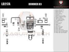 Fits Hummer H3 2006 Large Premium Wood Dash Trim Kit