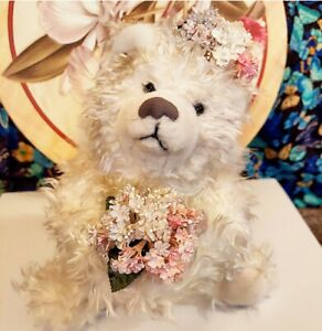Annette Funicello Starlight Plush 12in Angel Bear jointed plush