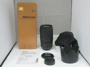 M Mint ++ Nikon AF-S NIKKOR 70-300mm F4.5-5.6 G ED VR Japan w/box