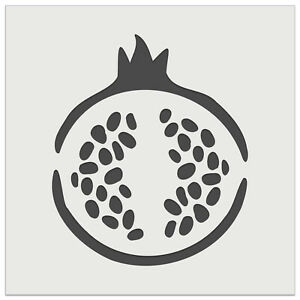 Yummy Pomegranate Fruit Vegetable Summer Wall Cookie DIY Craft Reusable Stencil