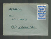 1944 Germany Luft Feldpost Cover to Rastatt