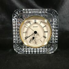Vintage Crystal STAIGER Quartz Desk Clock