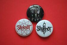 "Slipknot Band Metal Buttons Pins 1 Inch Badge 1"" backpack pinback Masks Logo"