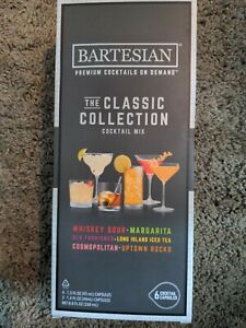 New Bartesian The Classic Collection Cocktail Mixer 6pk