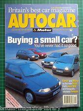 Autocar 29/9/1993 Jaguar XJS 6.0 V12 Cabriolet Punto vs Micra Twingo Ibiza Corsa