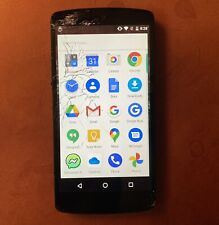 Google LG Nexus 5 D820 16Gb (FACTORY UNLOCKED) 4G LTE broken screen works great