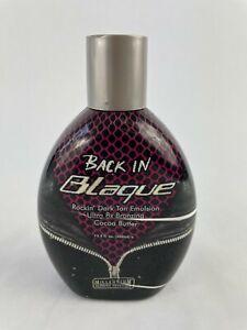 Back In Blaque Rockin' Dark Tan Emulsion Ultra 8x Bronzing CocoaButter 400ml S21