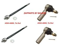 TOYOTA TACOMA 2WD 2.4  TIE ROD SET 1995-1997 Manual Steering