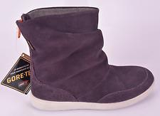 Ecco Girls Elli Gore-Tex Purple Leather High Cut Zip Boots UK 12 EU 30 US 13