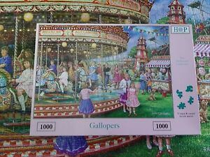 House of Puzzles 1000 Piece Jigsaw Puzzle - Gallopers