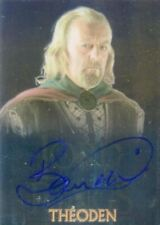 Lord of the Rings Trilogy Chrome Bernard Hill as Theoden Autograph Card