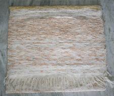"Cotton Kilim Rug Zari Work Dhurrie Turkish Rug Hand Woven Carpet Rug 48""x72""Inch"