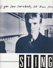 Si te gusta alguien les Libre-Sting - 1985 Partituras
