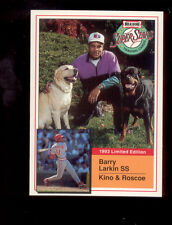 1993 Milk Bone BARRY LARKIN Cincinnati Reds Card Mint