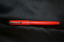 Parker  Big Red Red & Silver  Ballpoint  Pen  New In Box  Made In Usa
