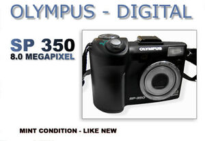 Olympus SP-350 8.0 MP Digital Camera - MINT CONDITION
