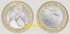 5 EURO Bimetallico FINLANDIA 2012 Hockey