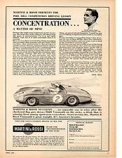 1961 PHIL HILL  ~  MOTORSPORTSMAN OF THE YEAR  ~  MARTINI & ROSSI AD