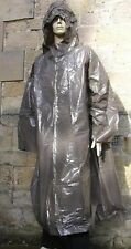 CZECH ARMY NBC OVERSUIT / PONCHO / HOODED CAPE WATERPROOF GENUINE ISSUE