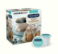 Cinnabon Classic Cinnamon Roll Coffee Keurig K cups BEST COFFEE FLAVOR